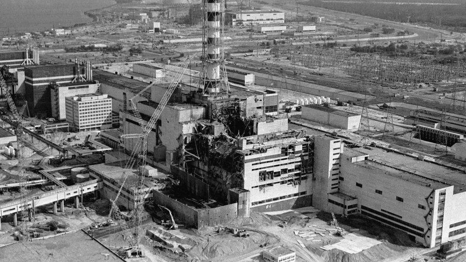 Černobyl těsně po havárii