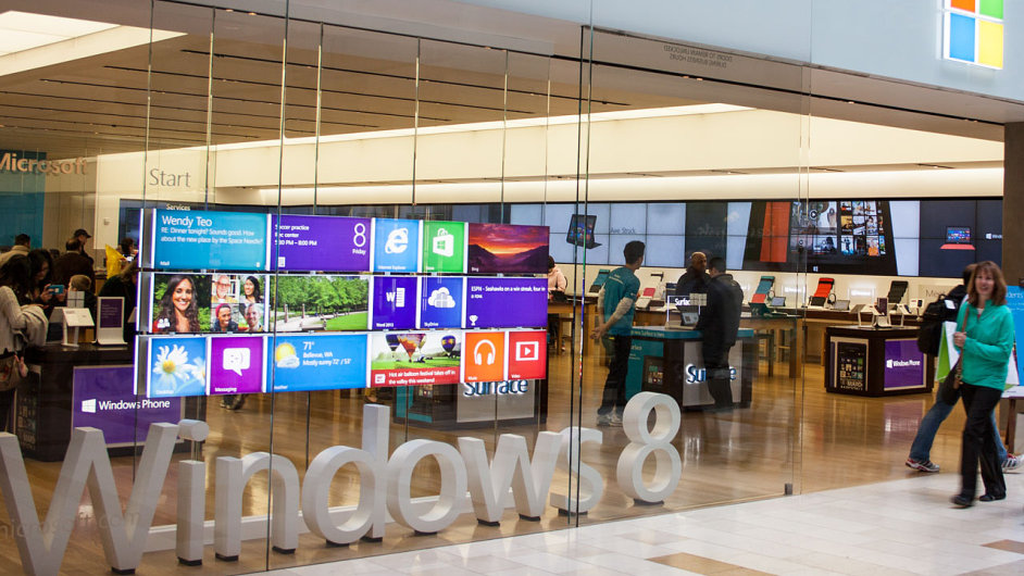 Microsoft Store v Bellevue ve státě Washington
