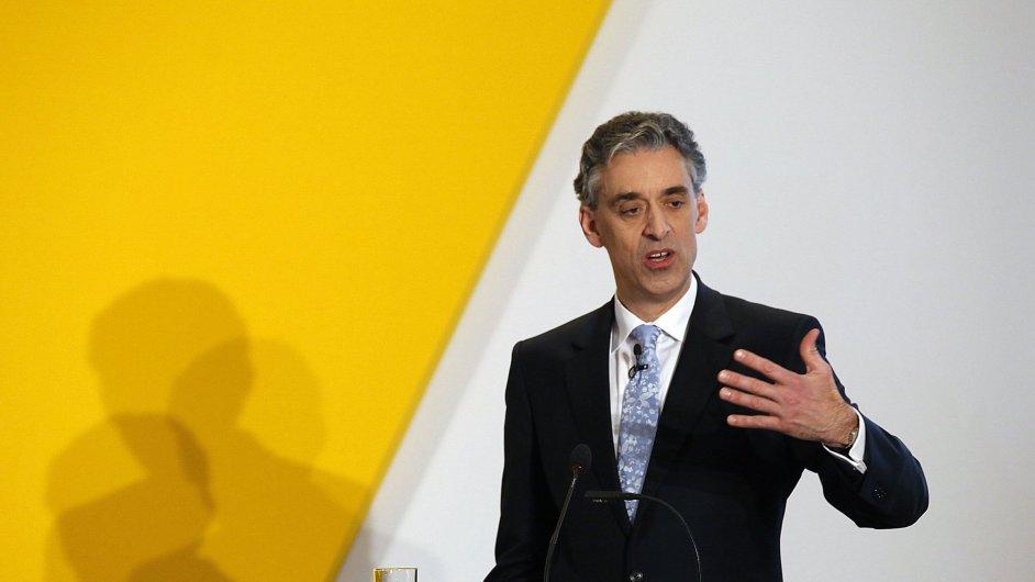 Výkonný ředitel Deutsche Post DHL Frank Appel podporuje zónu volného obchodu EU s USA