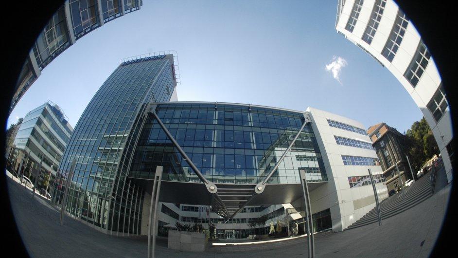 Budova vydavatelství Mafra