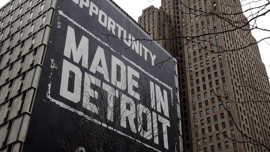 Budovy v centru Detroitu