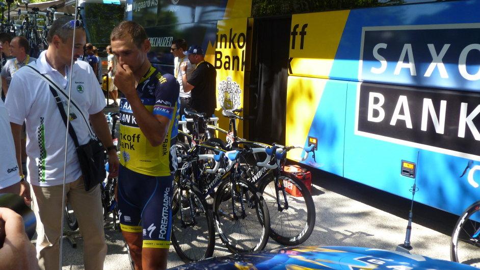 Roman Kreuziger a jeho týmové zázemí na Tour