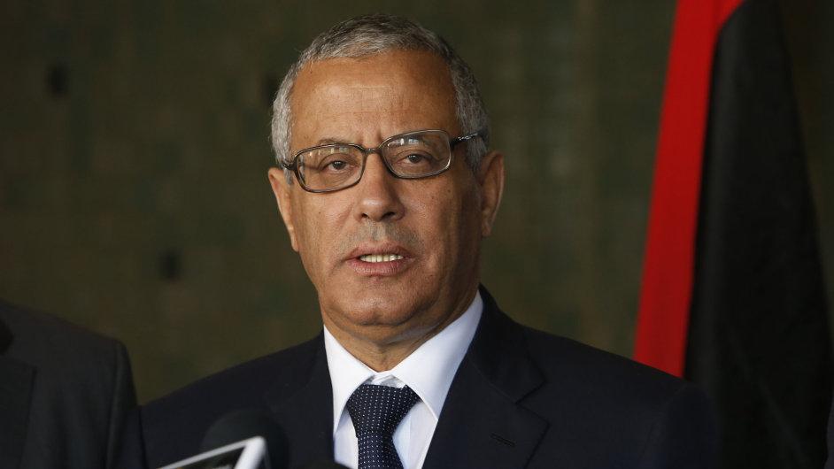 Libyjský premiér Alí Zajdán