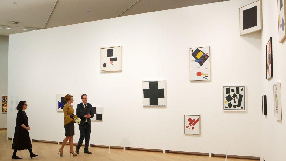 Kazimir Malevič a ruská avantgarda, Stedelijk Museum Amsterdam, do 2. února