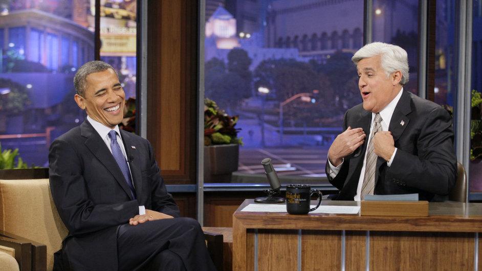 Proslulou talk show Jay Lena navštívil i Barack Obama.