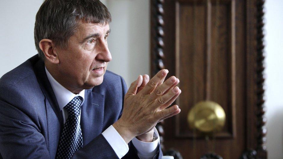 Ministr financí Andrej Babiš napsal, že nesouhlasí s rozdělením Ukrajiny na dvě země.