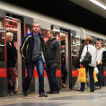 Na nov�m �seku trasy metra D se cestuj�c� budou moci sv�zt z�ejm� od roku 2022 (Ilustra�n� foto).