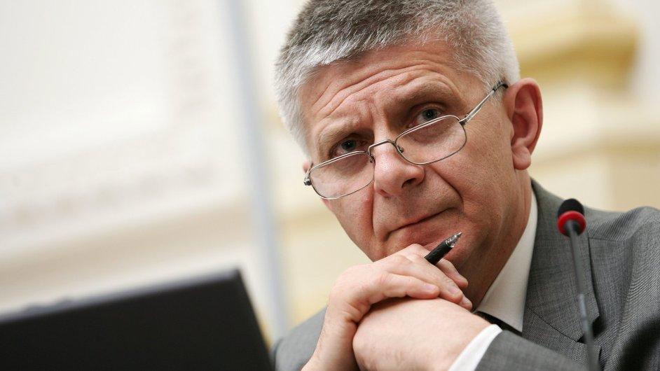 Marek Belka, guvernér Polské národní banky, bývalý premiér