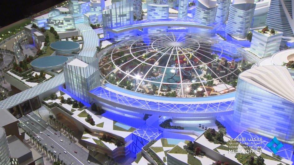 Dubaj chce vybudovat první klimatizovanou ulici.