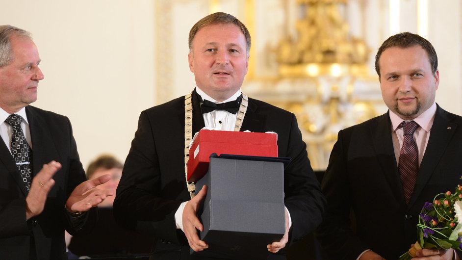 Nejlepším primátorem se stal Petr Beitl z Jablonce.