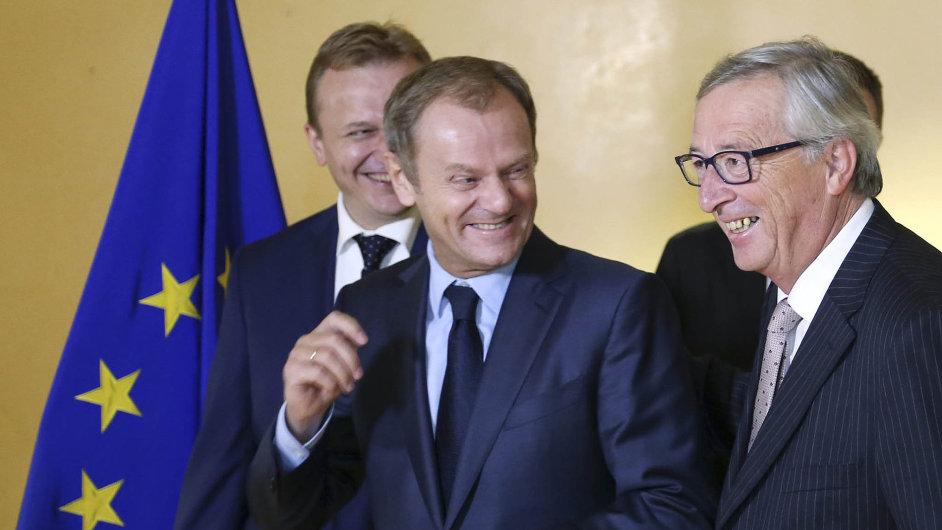 Dva nejvýše postavení muži EU