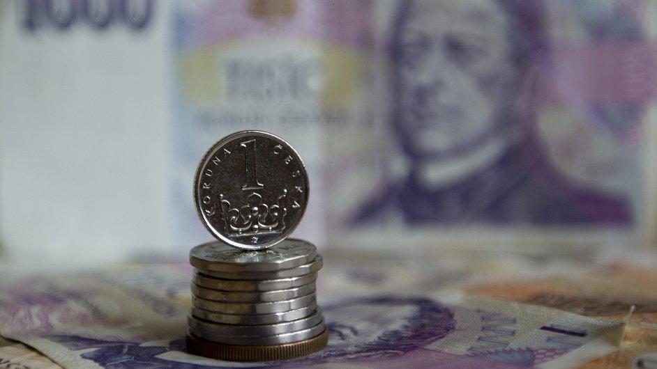 Česká měna je nejsilnější od listopadu 2013.
