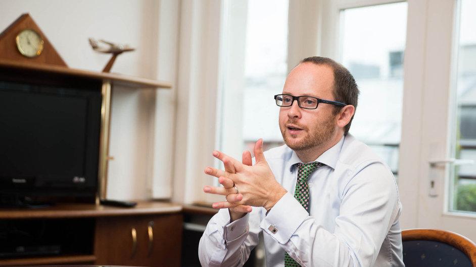 Generální ředitel exportní pojišťovny EGAP Jan Procházka.