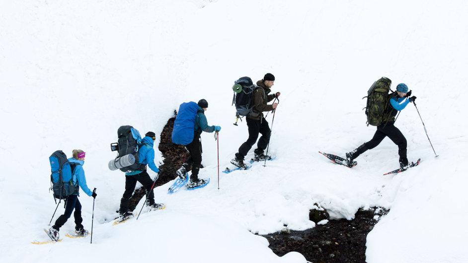 V jednoduchosti zimního putování a táboření se můžete dozvědět, jak málo stačí k životu.