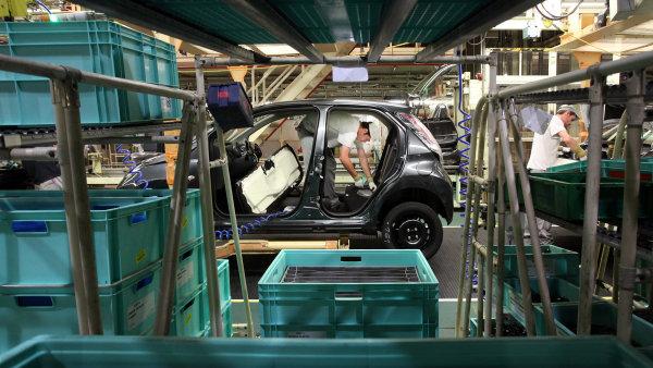 Počet lidí v autoprůmyslu loni stoupl o čtyři procenta na 115 000 - Ilustrační foto.