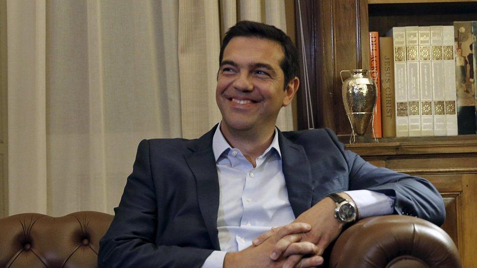 Řecký premiér Tsipras vyhrožuje, že pokud nebude vládnou s nynějšími partnery, tak nestane v čele vlády - Ilustrační foto.