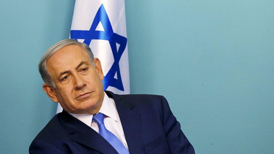 Na hranicích Izraele a Jordánska vzniká nový plot. Na snímku izraelský premiér Benjamin Netanjahu.