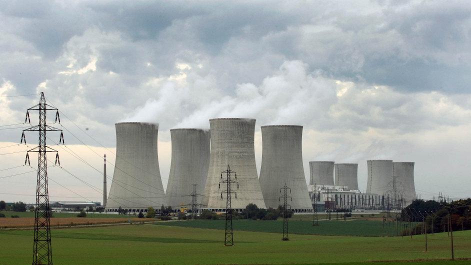 Envinet Nuvia jako jediná vČesku měří posledních 10 let radioaktivní odpad zDukovan (na snímku) aTemelína.
