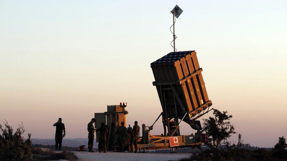 Izraelská protivzdušná obrana Železná kopule