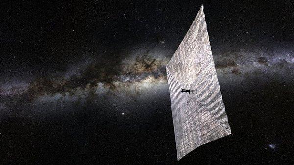 Solární plachetnice LightSail
