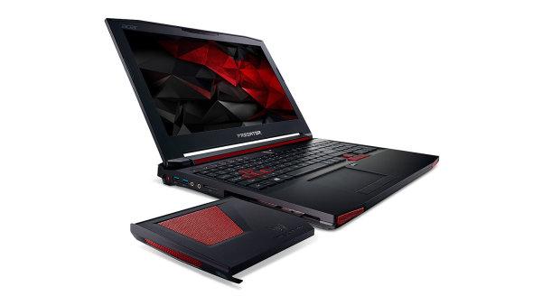 Herní notebook Acer predator 15