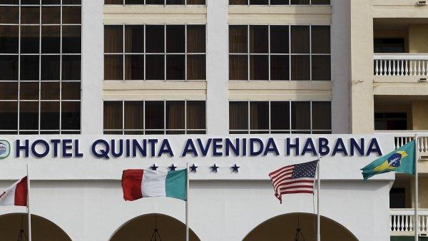 Hotel Quinta Avenida v Havaně.