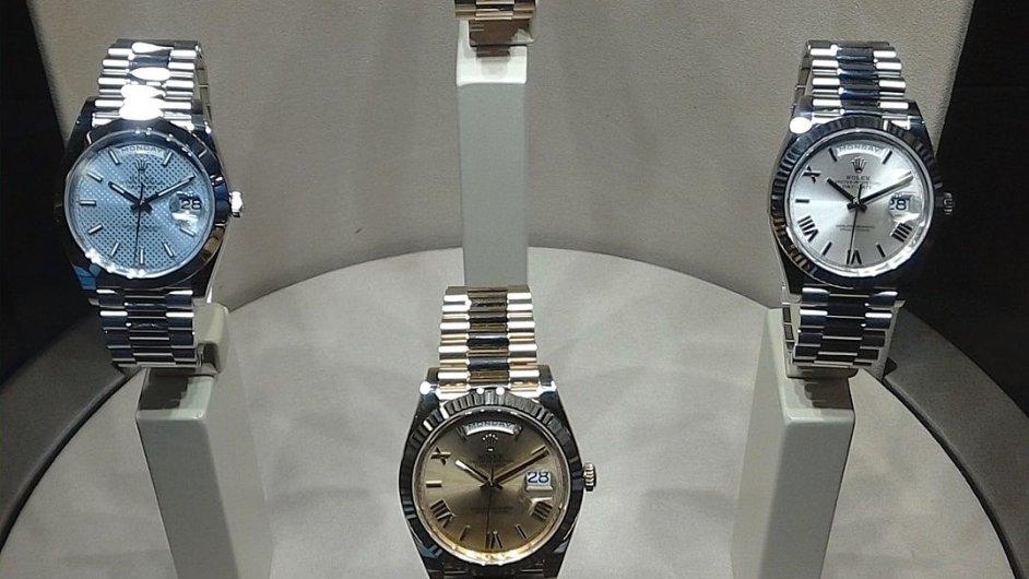 Oyster Perpetual Day-Date jsou hodinky, které nosil i americký prezident Eisenhower.