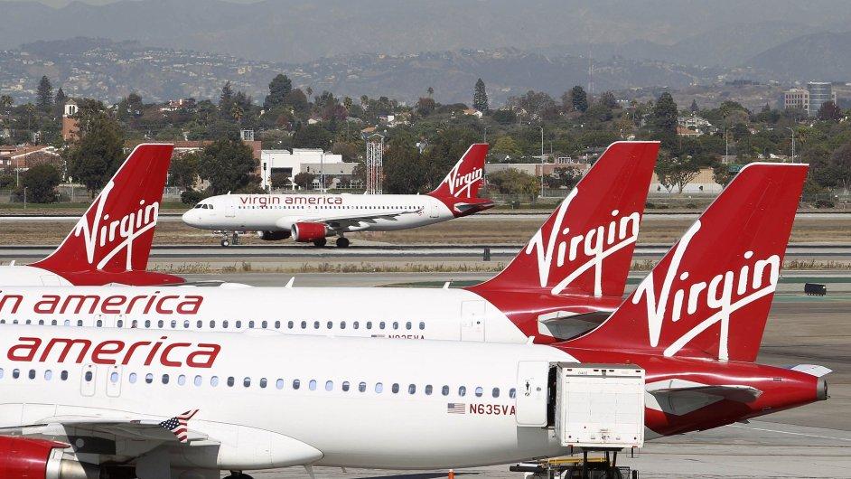 letadla Virgin America