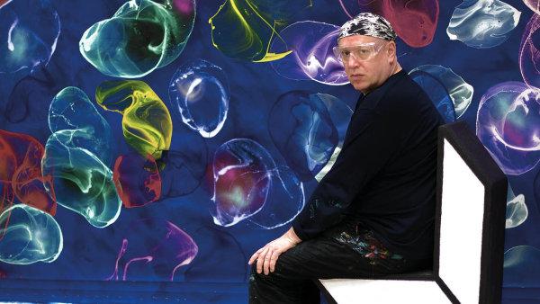 Jiří Georg Dokoupil emigroval s rodiči po srpnových událostech v roce 1968 do Kolína nad Rýnem.