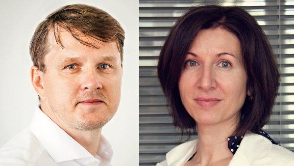 Martin Kořenek a Katarína Behulová, top management společnosti Home Credit