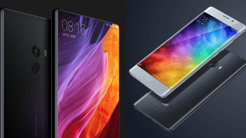 Xiaomi Mix a Mi Note 2