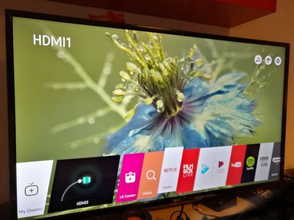 4k televize LG 43UH603V