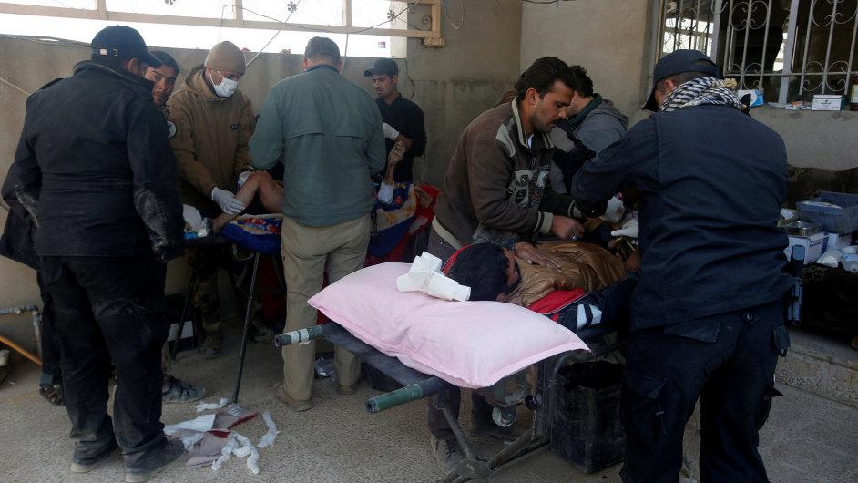 Mosul Irák nemocnice