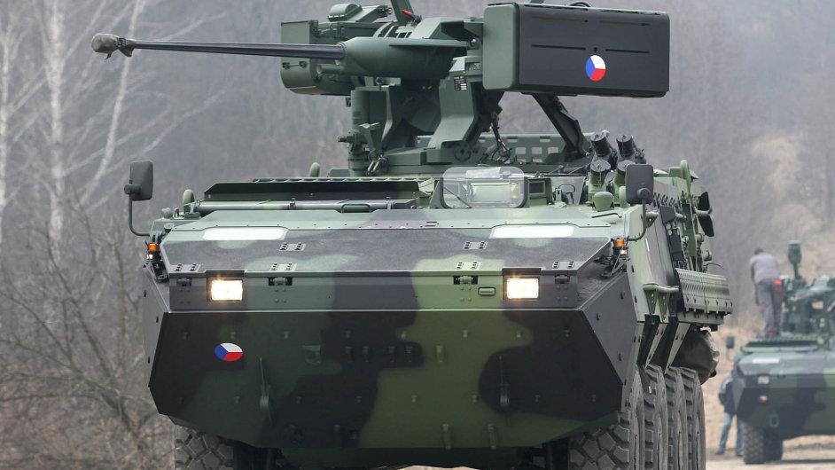 Ministerstvo obrany podepsalo smlouvu se společností Tatra Defence Vehicle nanákup 20 obrněných vozidel Pandur za 2,07miliardy korun.