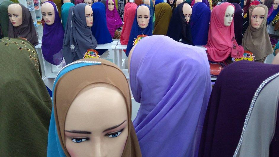 Hidžáb, ilustrační foto