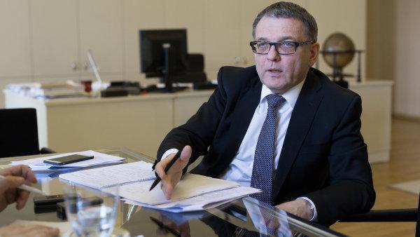Ministr zahraničí Lubomír Zaorálek.