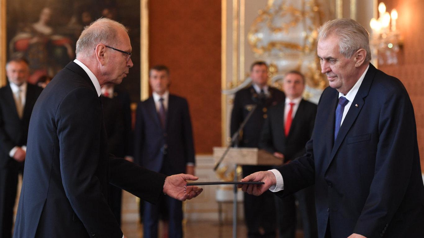 Ivan Pilný a Miloš Zeman.