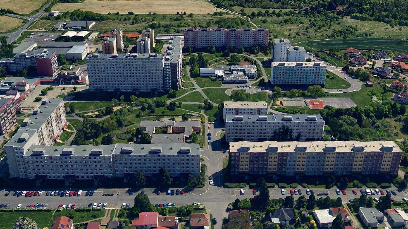 Sídliště Písnice Praha