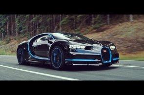 Zrychlit na čtyři sta a zastavit za čtyřicet sekund. Nový Bugatti Chiron pokořil rekord