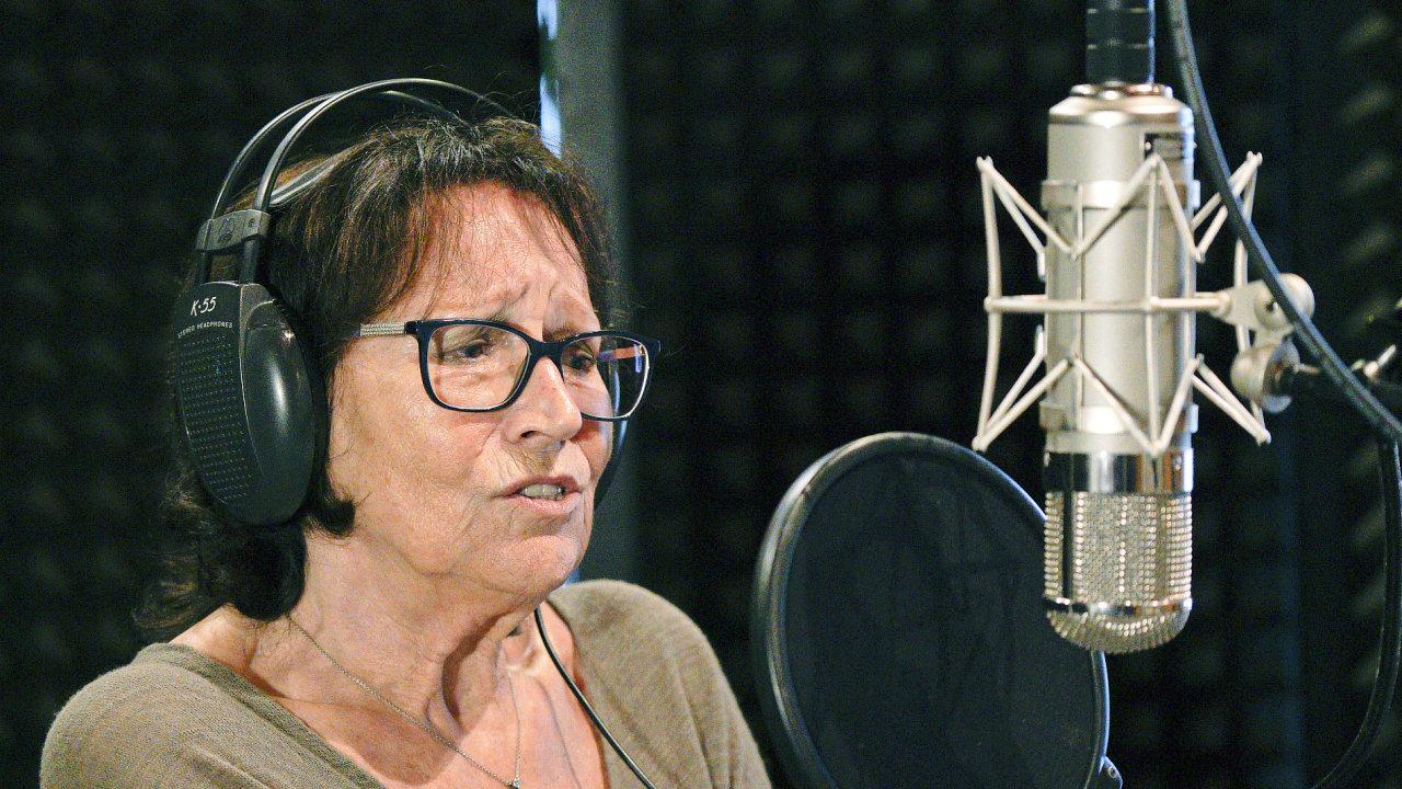 Marta Kubišová novou verzi Modlitby pro Martu natočila tuto středu v unhošťském Studiu Sono.