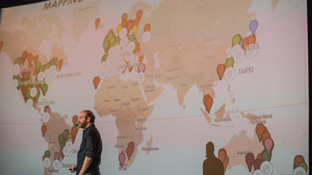 Zakladatel brazilského urbanistického start-upu Urb-i Yuval Fogelson.