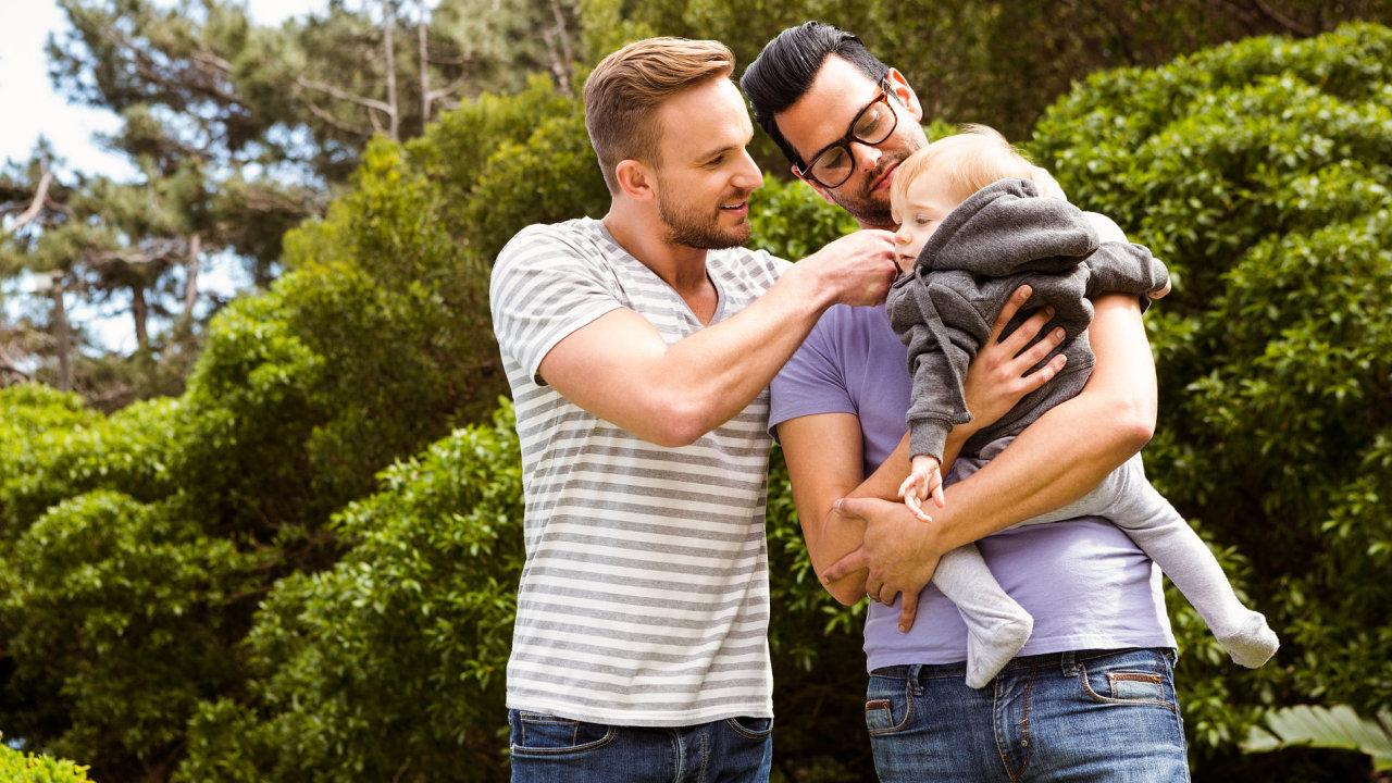 gay, rodiče, adopce