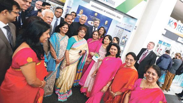 Indie je letošním hlavním partnerem MSV, a proto má k dispozici velké množství prostoru v pavilonu A1.