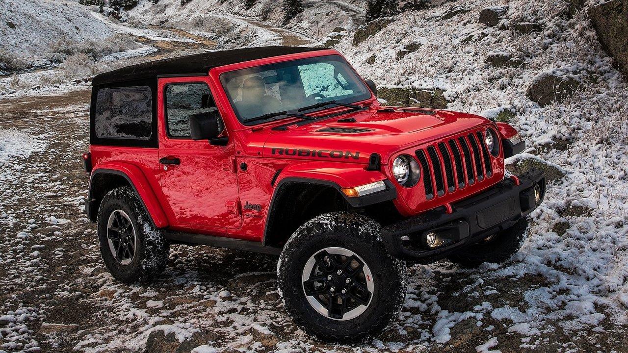 Jeep představil nový Wrangler.