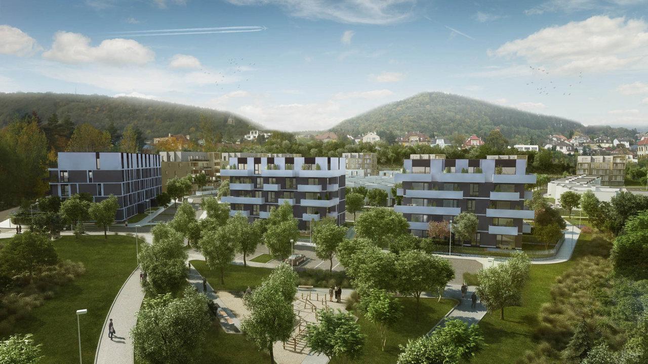 Developeři začínají stavět i v okolí Prahy. Společnost Crestyl například sází na Beroun v projektu Berounská brána.