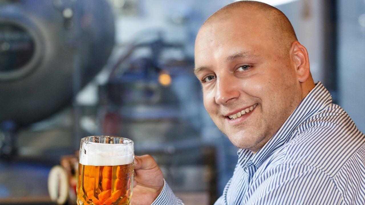 Obchodní ředitel skupiny Heineken v Česku Pavel Slavík.