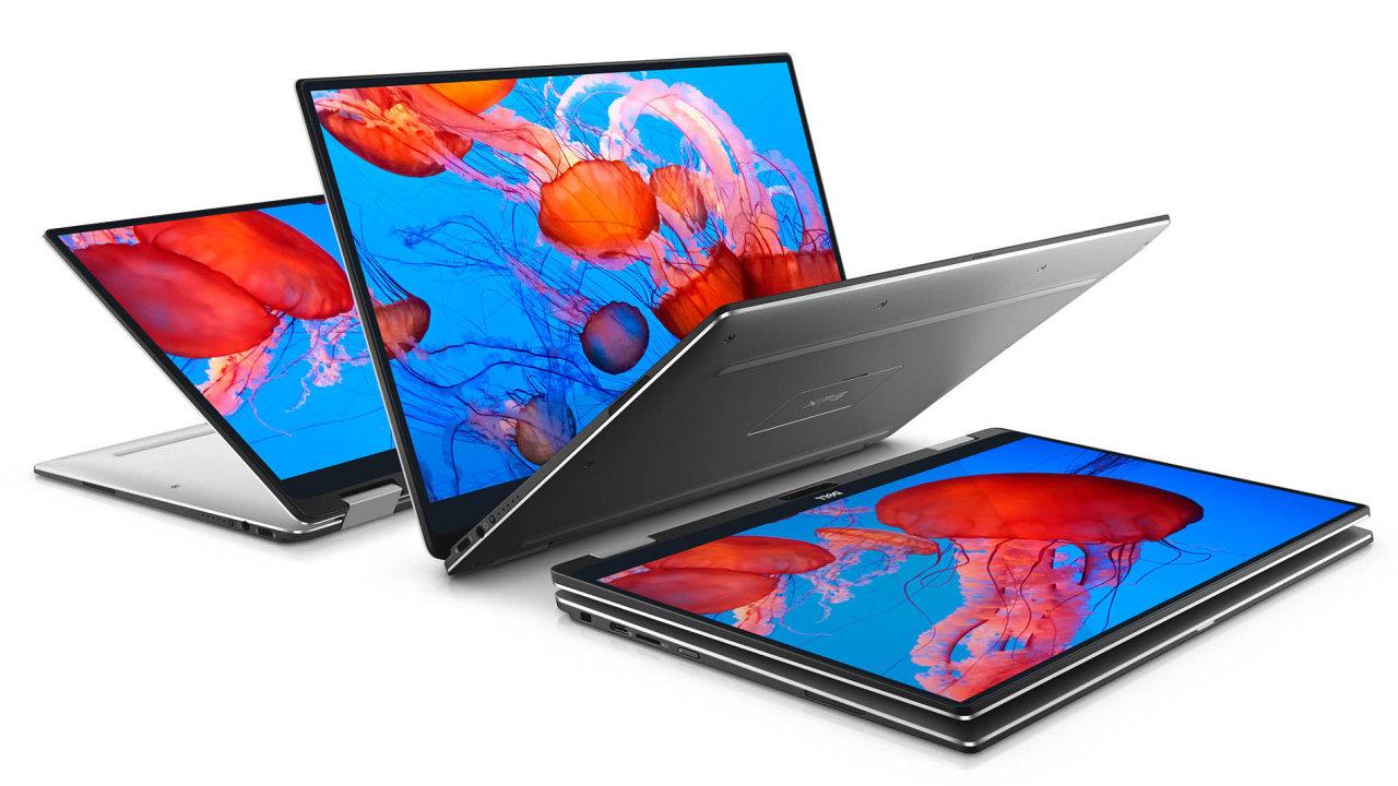 Hybridní notebook Dell XPS 13 Touch patřil k průkopníkům likvidace rámečků u notebooků