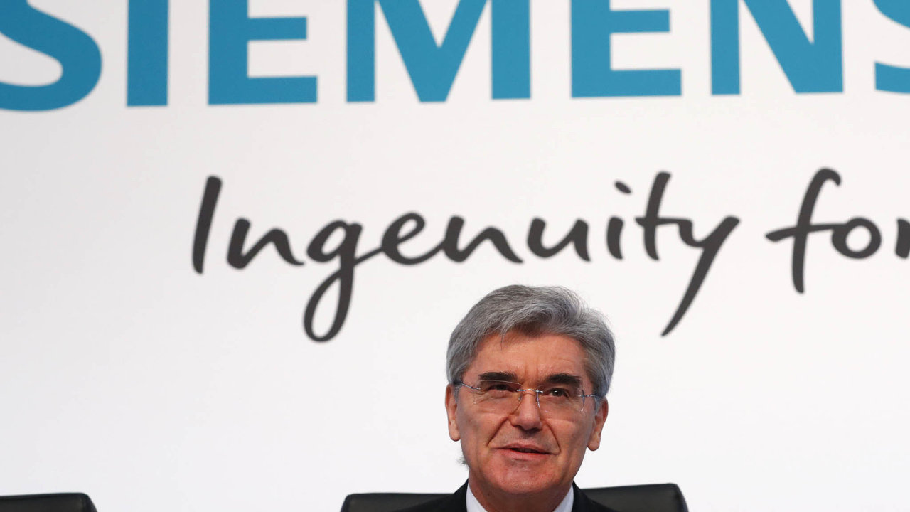 Šéf koncernu Siemens Joe Kaeser.