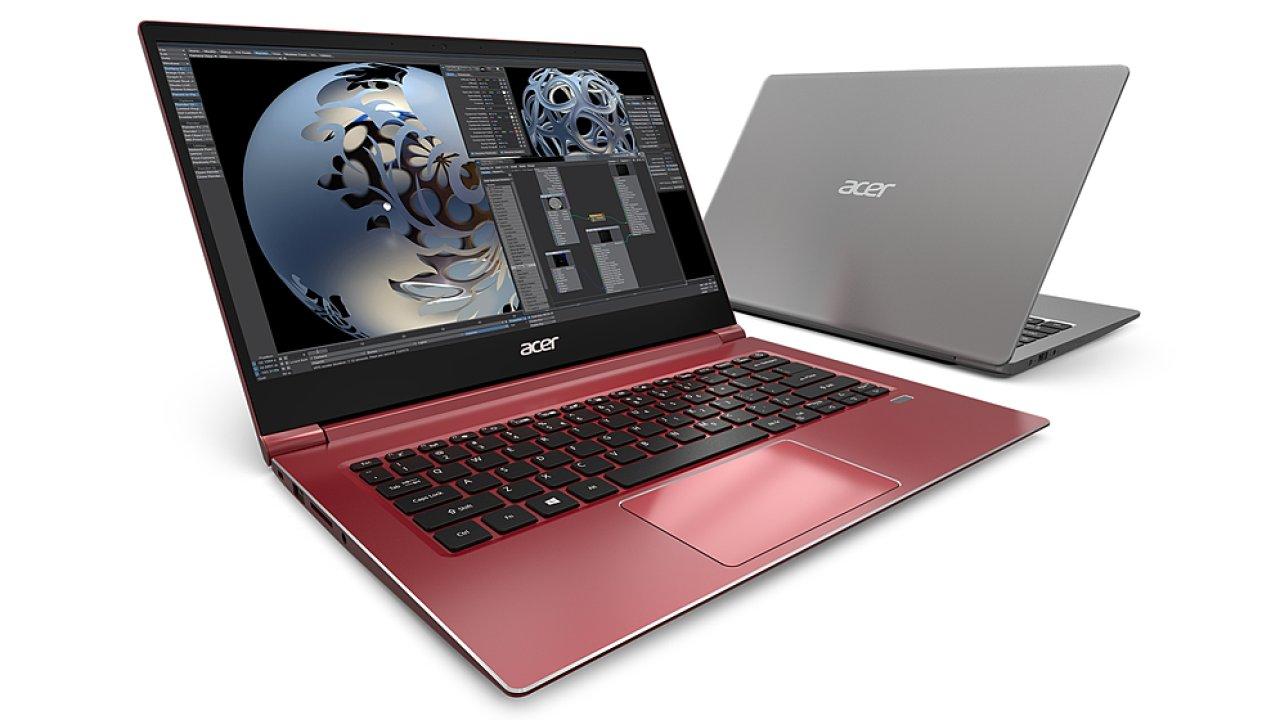 Acer Swift 3 je takový normální notebook, který dobře vypadá a potěší výbavou