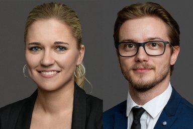 Klára Korychová a Marek Novák, tým architektů společnosti Prochazka & Partners